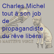 Charles Michel tout à son job
