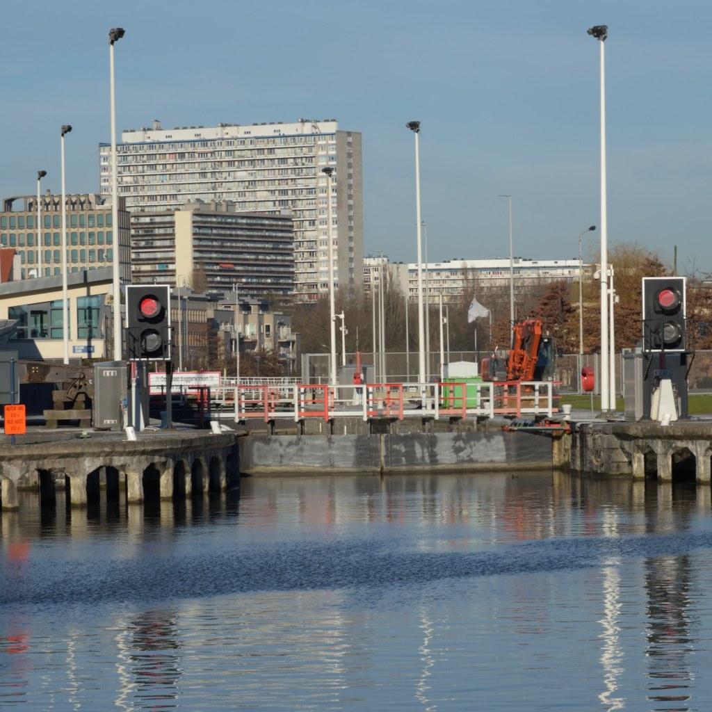 Bruxelles canal à Anderlecht